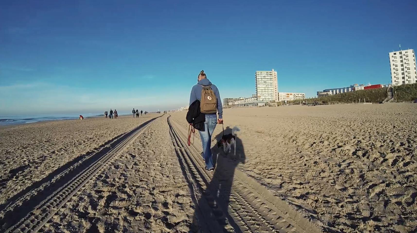 Zandvoort in der Nebensaison