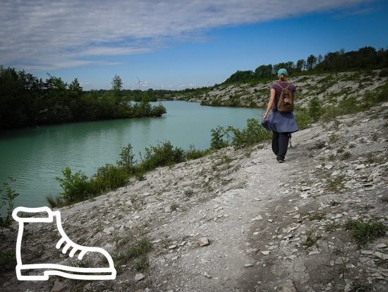 Rundwanderweg Blaue Lagune in Beckum
